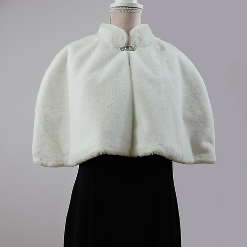 Violet -Faux Fur/Winter White