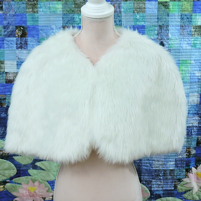 Greta - White Faux Fur