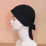 バンダナ帽ブラック_2