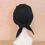 バンダナ帽ブラック_3