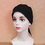 バンダナ帽ブラック_1