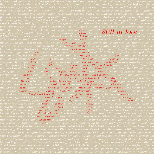 Side A_Still In Love_single cover_1440X1