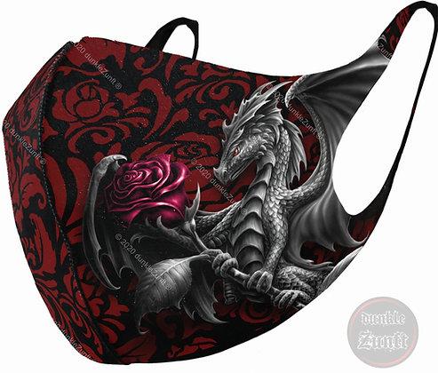 Spiral - Dragon Rose Gesichtsmaske
