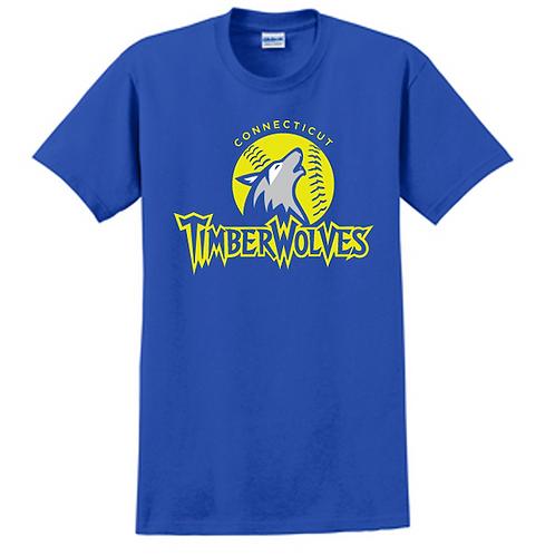 Timberwolves Cotton Short Sleeve Tshirt