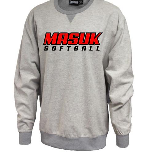 Masuk Softball Crew Inside Out Sweatshirt