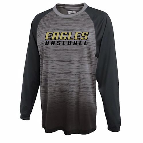 Trumbull Baseball Gradient Long Sleeve Shirt