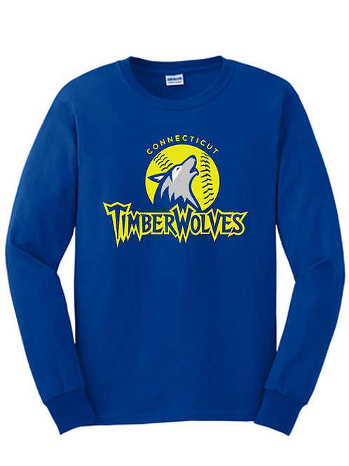 Timberwolves Cotton Long Sleeve Tshirt