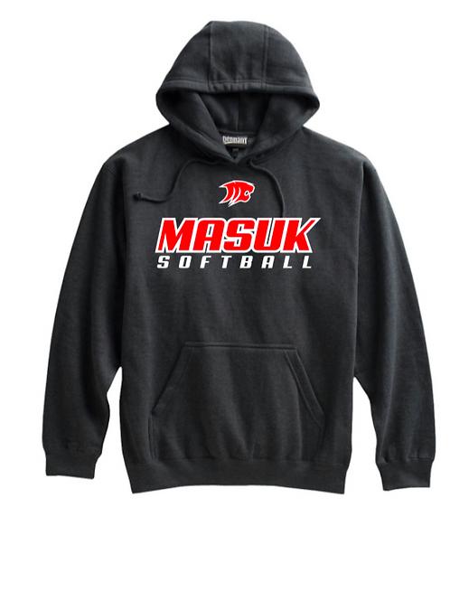 Masuk Softball Cotton Hoodie Name & Number