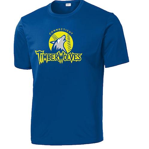 Timberwolves Dri Fit Short Sleeve Tshirt