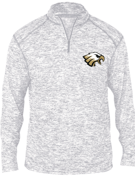 THS Soccer 1/4 Zip with Name on Back of Neck