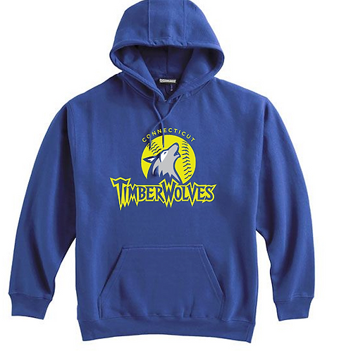 Timberwolves Cotton Hoodie Name & Number