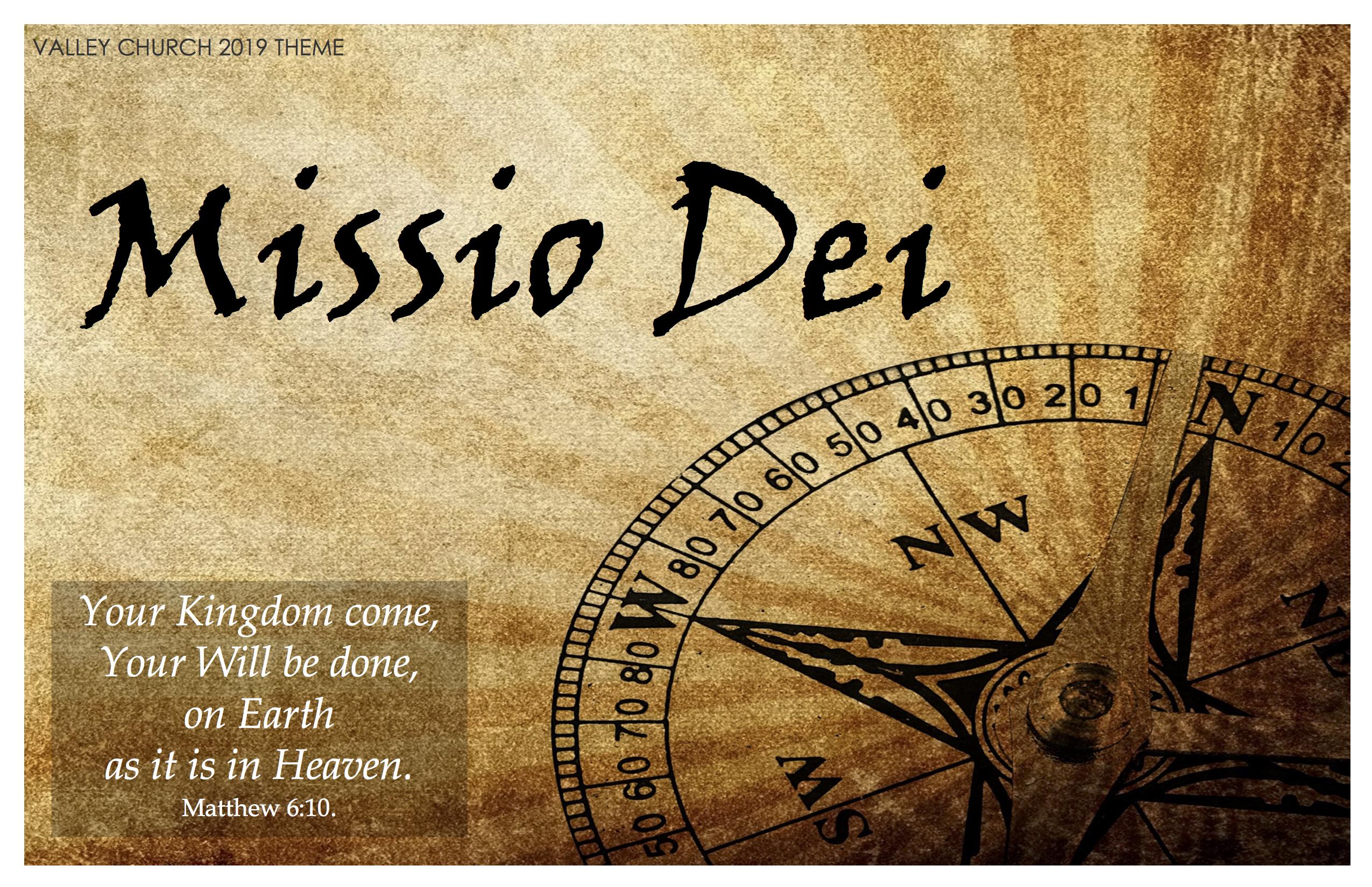 Missio Dei 19 Theme Poster