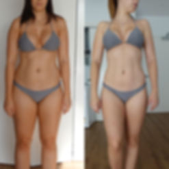 Michele is a Team Le Man client of Melissa Le Man who has had a bod y transformation and lost weight and changed her shape