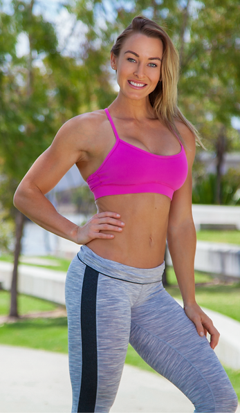 Melissa Le Man, women's health and fitness coach, WBFF Pro fitness model, Oxygen Covergirl, creator of Shape Yourself 8 week program