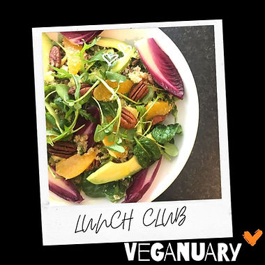 Winter Salad and Farinata