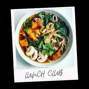 Miso Noodle Broth and Raw Choc Slab