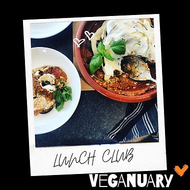 Puy Lentil and Aubergine Bake with Cashew Cheese