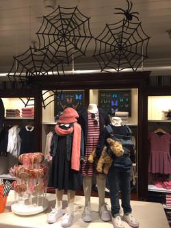 Spider webs for Ralph Lauren