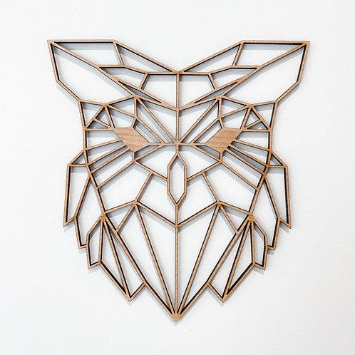 Geometric Owl Wall Art
