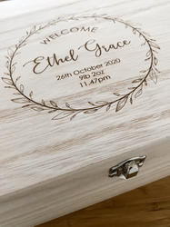 New Baby Gift Box Personalised