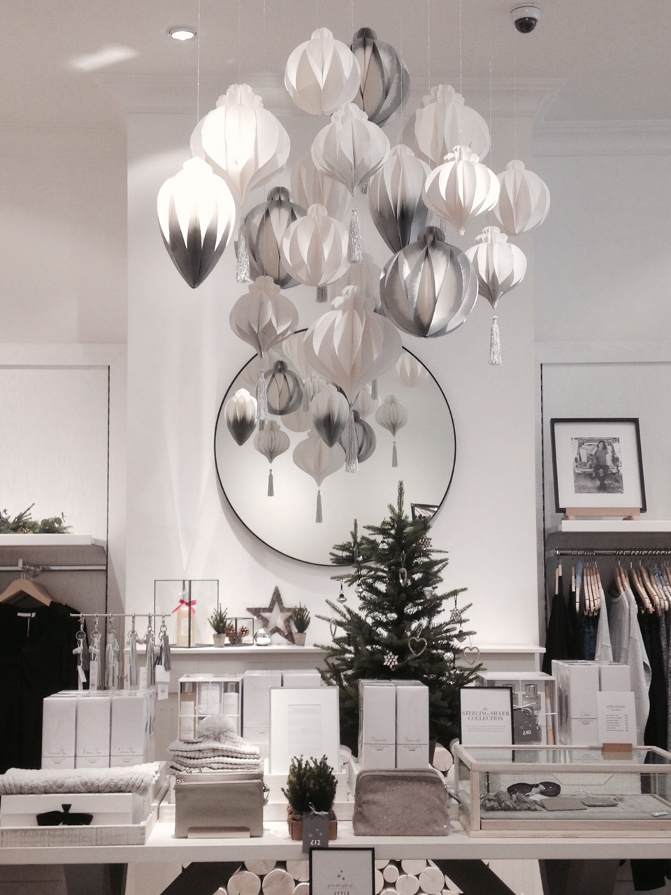 Paper Decorations for The White Company