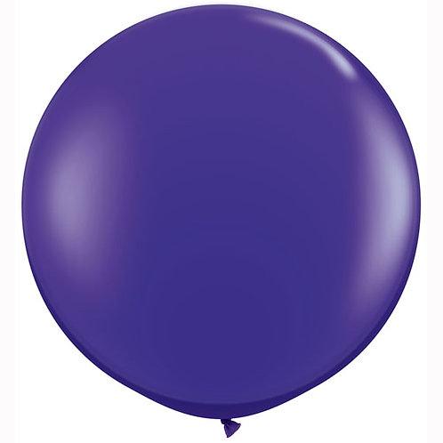 Giant Jewel Quartz Balloon & Tassel Tail