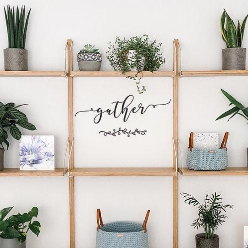 'Gather' Wall Art