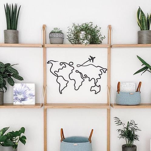 'Around the World' Wall Art