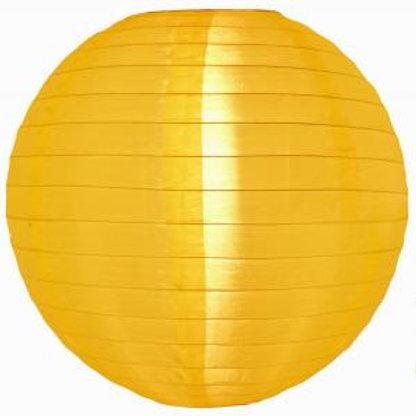 Yellow Nylon Hanging Lanterns