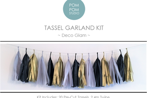 Tassel Garland Kit - Deco Glam