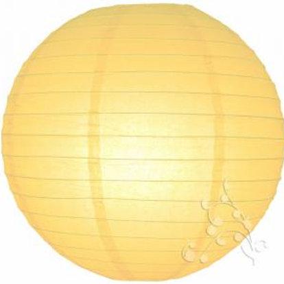 Pale Yellow Hanging Lanterns