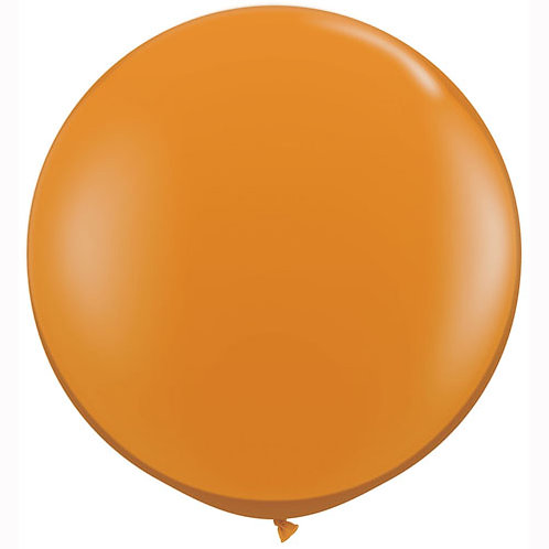 Giant Mandarin Balloon & Tassel Tail