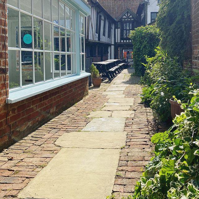 The Studio is nestled in a beautiful courtyard along St Peter's Street, Ipswisch