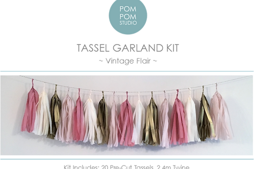 Tassel Garland Kit - Vintage Flair