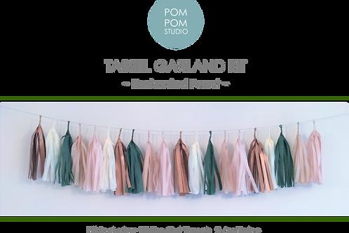 Tassel Garland Kit - Enchanted Forest