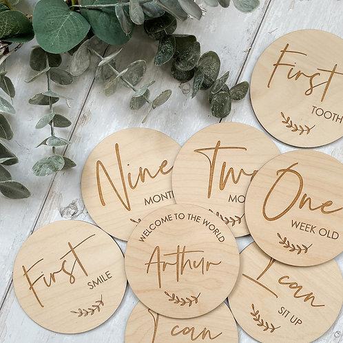 Baby Milestone Discs inc Firsts