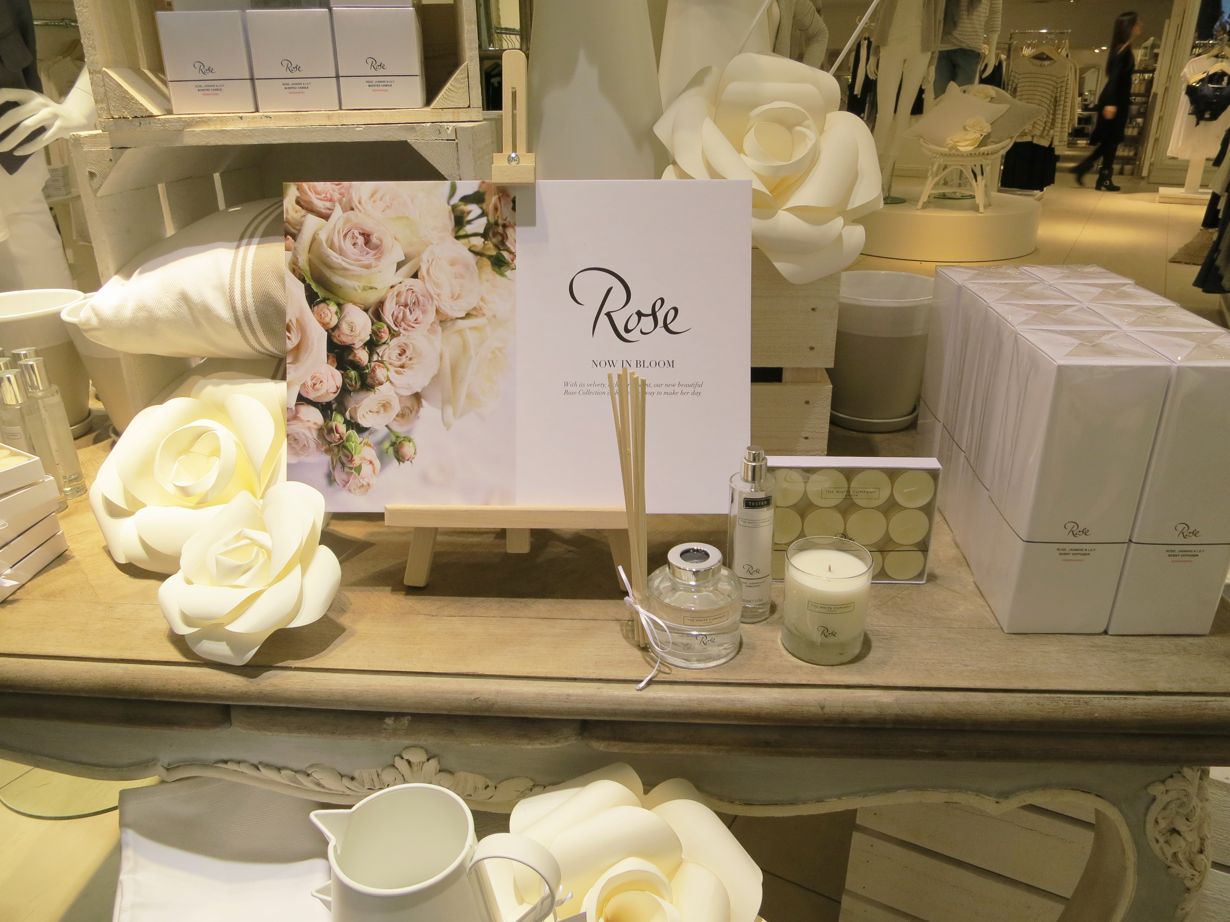 Paper Roses for The White Company