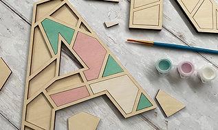 geometric craft kit puzzle