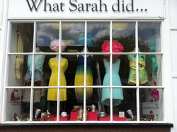 What Sarah did... Shop display