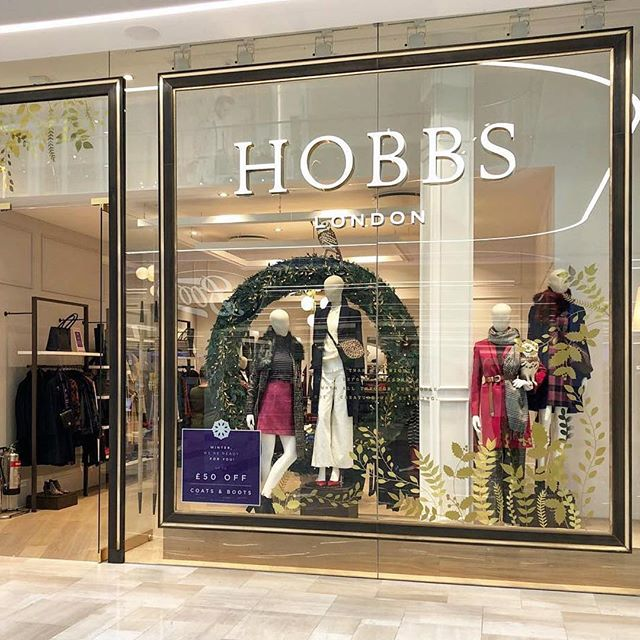 Christmas Wreaths for HOBBS London