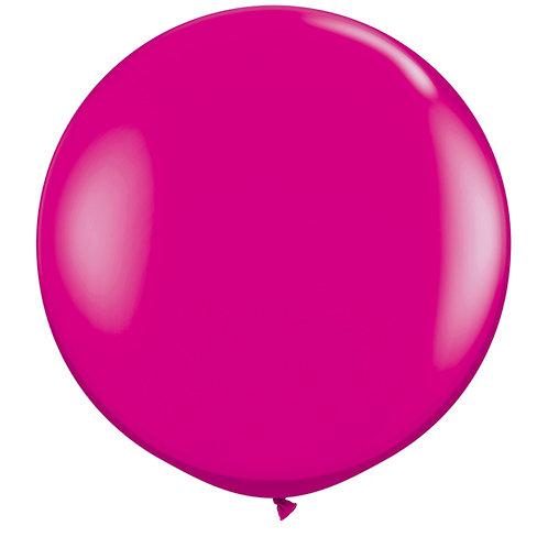 Giant Wild Berry Balloon & Tassel Tail