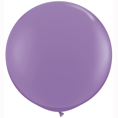 Giant Spring Lilac Balloon & Tassel Tail