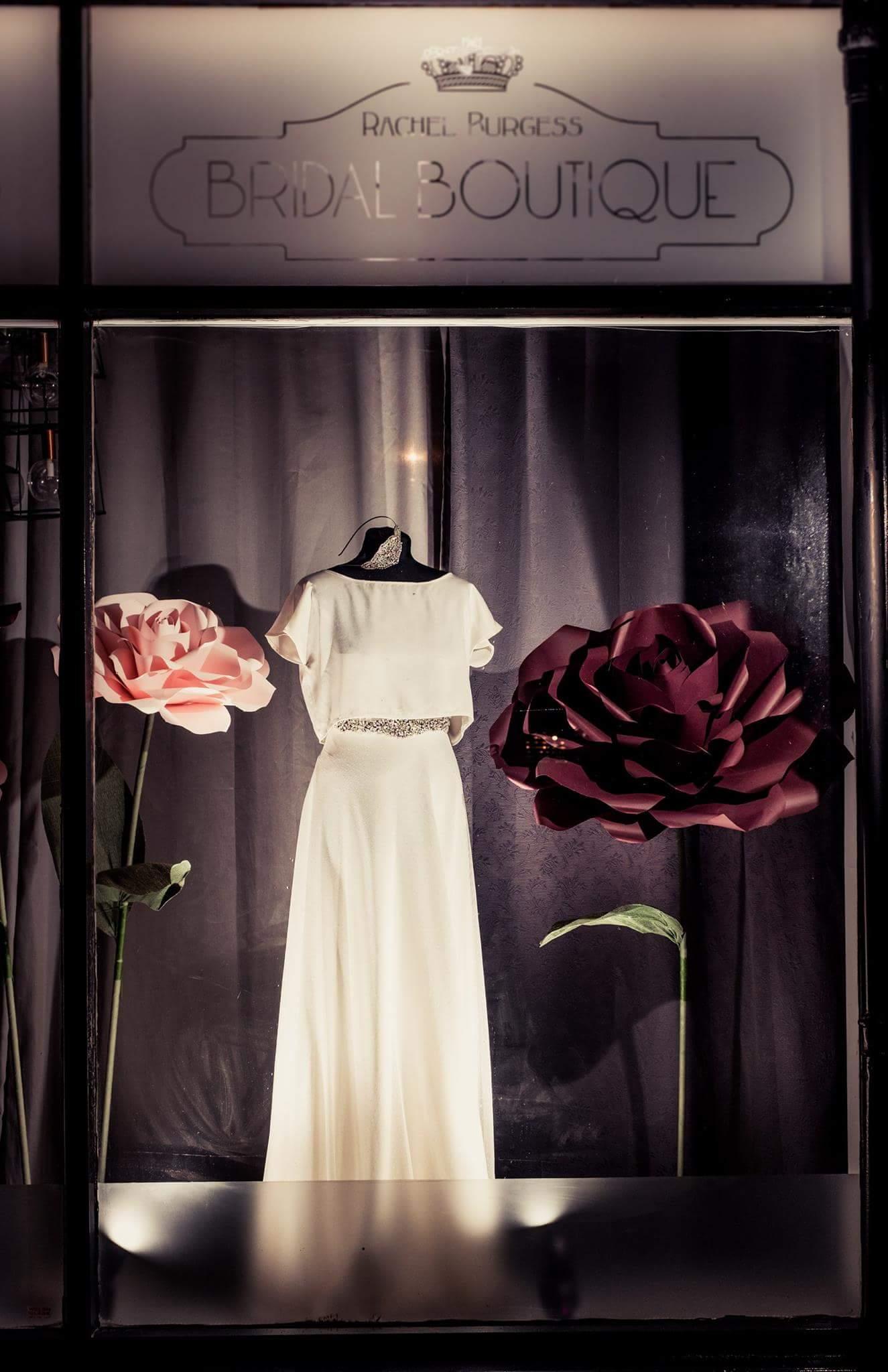 Freestanding Paper Roses