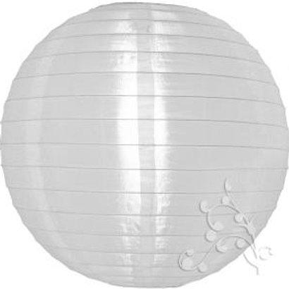 White Nylon Hanging Lanterns