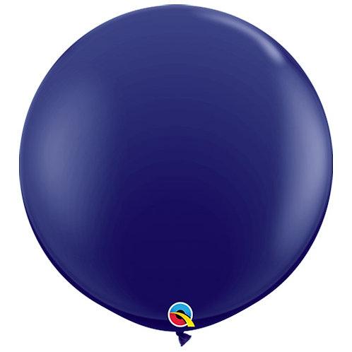 Giant Navy Balloon & Tassel Tail