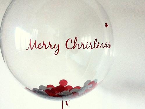 'Merry Christmas' Bubble