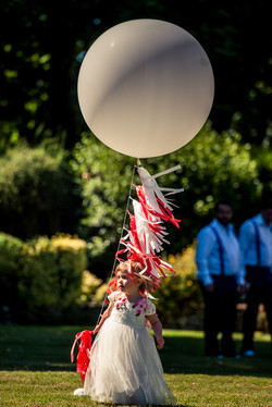 Giant Balloon & Tassel Tail