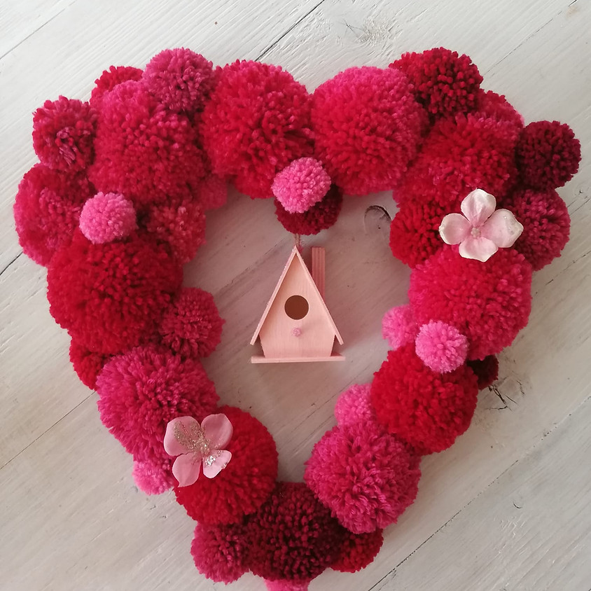Pom Pom Wreath Workshop - £45