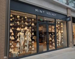 Mint Velvet Window Display