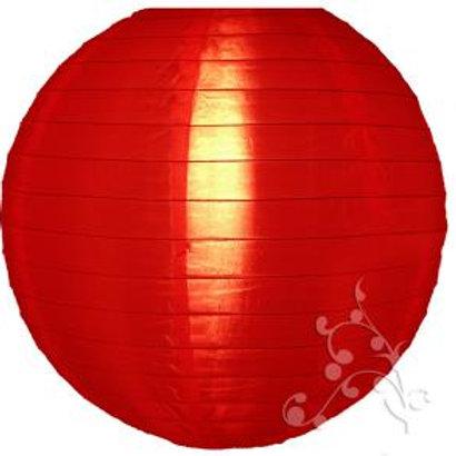 Red Nylon Hanging Lanterns